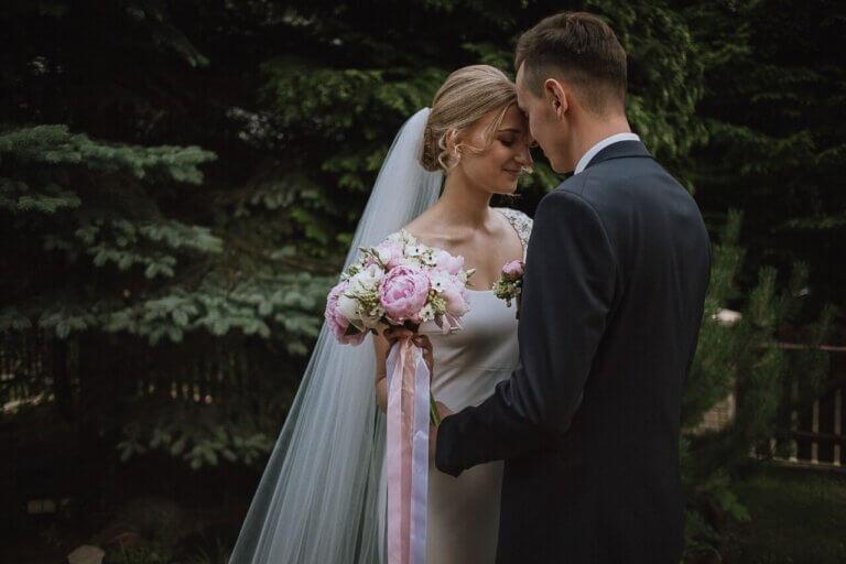 wiązanka ślubna Agi