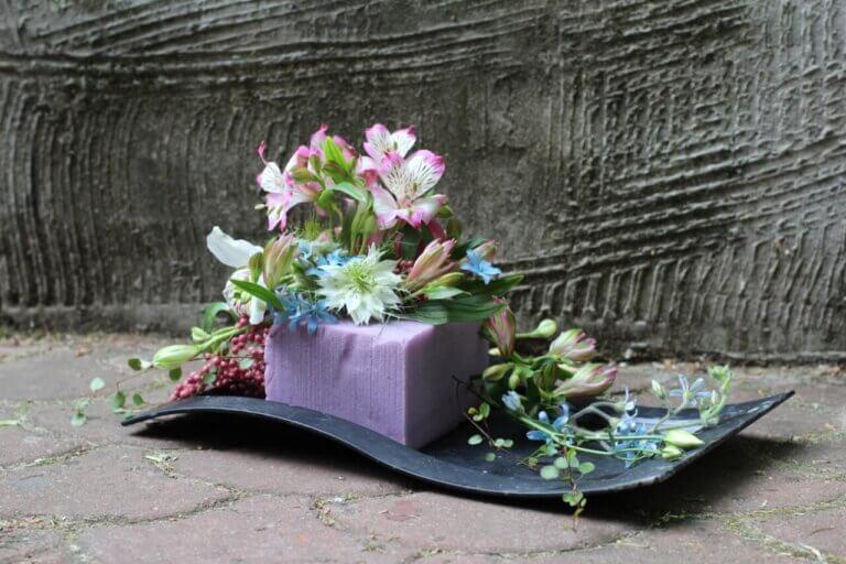 ozdoba z kwiatów