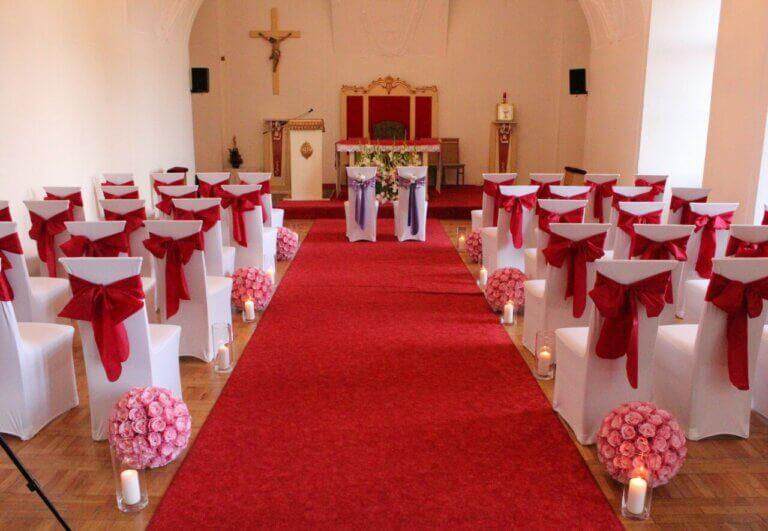 przybrany kościół